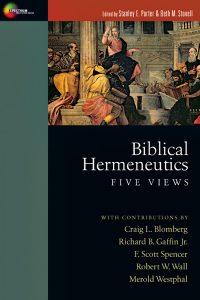 """""""Biblical Hermeneutics"""""""